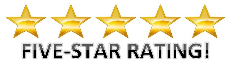 5 Star Ratings & Reviews