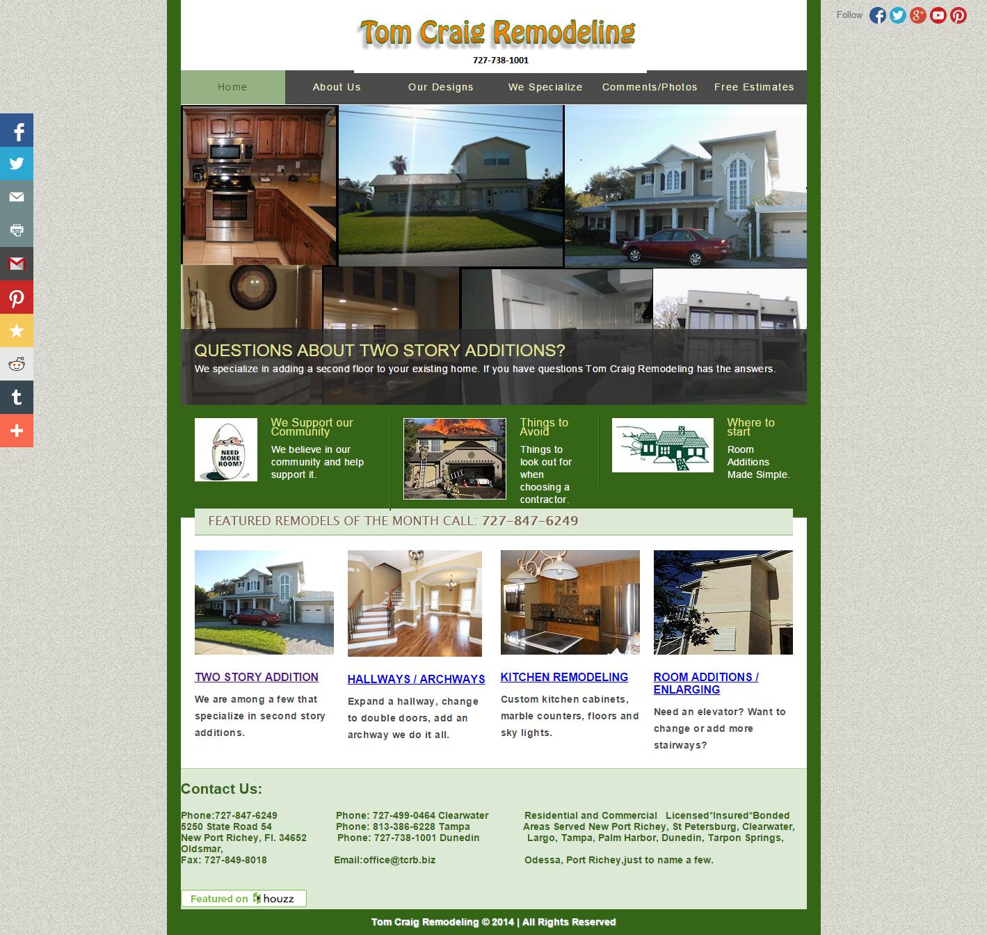 Tom Craig Remodelers Since 1971 Home Remodeling Room Additionstom Craig Before